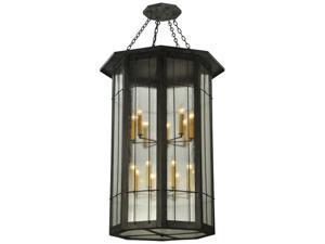 MEYDA 131145 38 in. W West Albany 16 Light Pendant