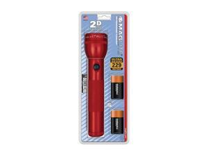 Mag-Lite S2DDY6 Red Xenon Flashlight