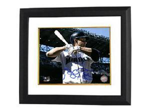Bret Boone signed Seattle Mariners 8x10 Photo Custom Framed (horizontal)