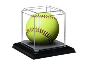 Softball unsigned Display Case- Case of 3