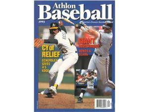 Athlon CTBL-S13241 Barry Bonds & Will Clark Unsigned San Francisco Giants Sports 1993 MLB Baseball Preview Magazine with Eckersley