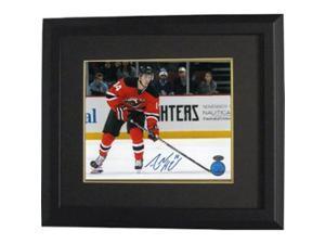 Athlon CTBL-BB14401 Adam Henrique Signed New Jersey Devils Photo Custom Framed Horizontal - 8 x 10