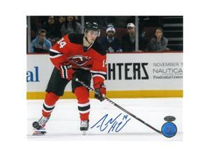 Athlon CTBL-014401 Adam Henrique Signed New Jersey Devils Photo Horizontal - 8 x 10