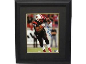 Michael Bush signed Louisville Cardinals 8x10 Photo Custom Framed