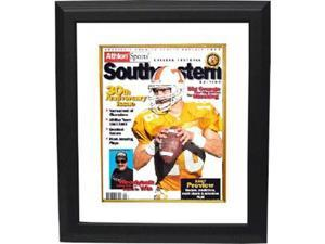 Peyton Manning unsigned Tennessee Vols 1997 Athlon Cover 8x10 Custom Framed