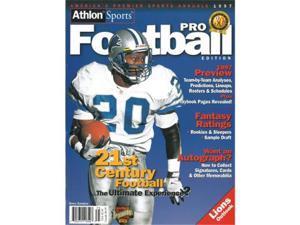 Athlon CTBL-012509 Barry Sanders Unsigned Detroit Lions Sports 1997 NFL Pro Football Preview Magazine