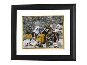 Athlon CTBL-BW7471 Ike Taylor Signed Pittsburgh Steelers 8 x 10 Photo Custom Framed