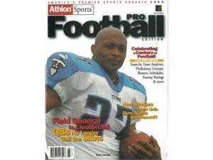 Athlon CTBL-012498 Eddie George Unsigned Tennessee Titans Sports 1999 NFL Pro Football Preview Magazine