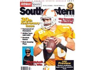 Peyton Manning unsigned Tennessee Vols 1997 Athlon Cover 8x10