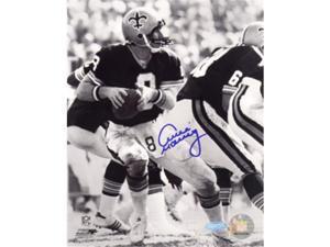 Athlon CTBL-017264 Archie Manning Signed New Orleans Saints 8 x 10 Photo Vintage B&W - Steiner Hologram
