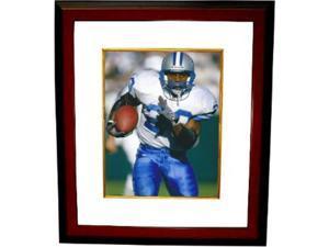 Barry Sanders unsigned Detroit Lions 8x10 Photo Custom Framed