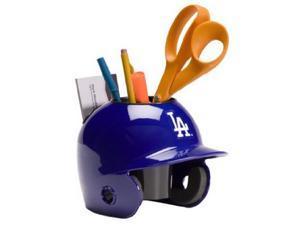 Athlon CTBL-017816 Los Angeles Dodgers MLB Baseball Schutt Mini Batting Helmet Desk Caddy