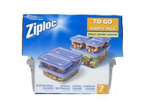 Ziploc 709391 Variety Pack Containers - 7 Count