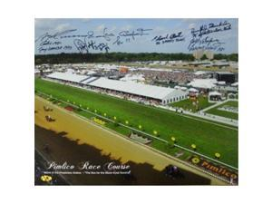 Ronnie Franklin signed Preakness Stakes Winners Pimlico Race Course Horse Racing 16x20 Photo w/ 6 Sig