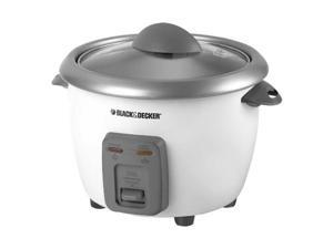 Applica RC506 Black-Decker 6-Cup Rice Cooker, White Out