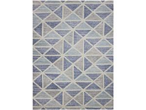 Amer Rugs VEC10811 Vector Hand Tufted Rug - Smoke Gray, 8 x 11 ft.