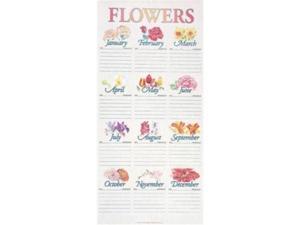 Abingdon Press 992217 Chart - Flower Chart in Tube