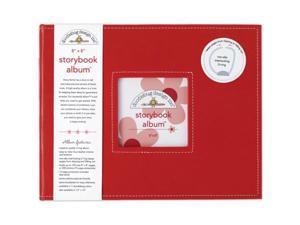 Doodlebug DBSBA8-2735 Storybook Album 8''X8''-Ladybug