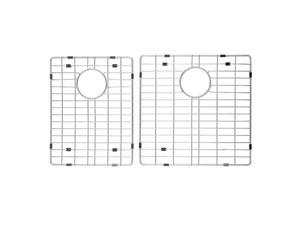 Kraus KBG-203-36-1 Stainless Steel Bottom Grid with Protective Anti-Scratch Bumpers for KHF203-36 Kitchen Sink Left Bowl