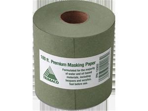 Trimaco 12203 Green Premium Masking Paper, 3 in. x 60 Yard