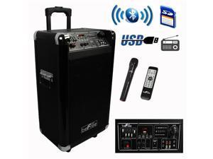 Befree Sound BFS-60L 10 in. Sleek Professional Portable Bluetooth PA Speaker