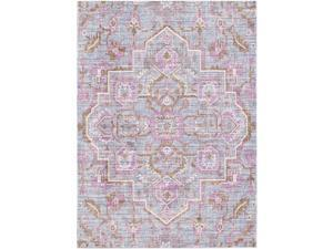Surya GER2317-9131 9 ft. x 13 ft. 1 in. Germili Rectangle Machine Made Updated Traditional Area Rug, Multi Color