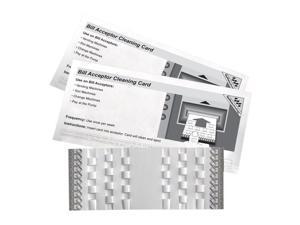 Kicteam KW3-BMB15M Bill Acceptor Clean Card Lucky Stripe - 15 Per Box