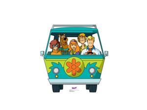 Advanced Graphics 2498 45 x 45 in. Mystery Machine - Scooby-Doo Mystery Incorporated Cardboard Standup