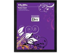 Dax DAX286322X 22 x 28 in. Square Poster Frame, Black