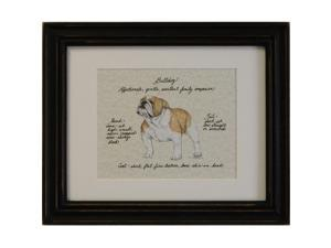 Clapper Hollow HC18 Bull Dog Framed Print