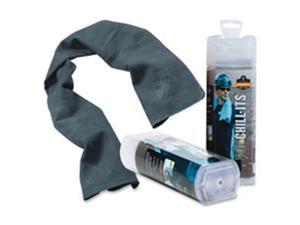 Ergodyne EGO12438 Chill-Its Evaporative Cooling Towel, Gray