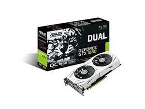 Asus -VGA Nvidia DUALGTX1060O6G 6GB GeForce GTX 1060, 1.59 GHz GDDR5 - PCI Express 3.0 Graphic Card