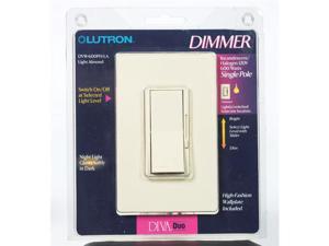 Lutron Lt Alm S/P Slide Dimmer DVW-600PH-LA Unit: EACH
