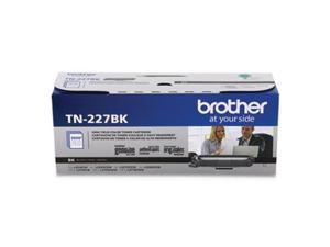 Brother International - TN227BK - Brother Genuine TN-227BK High Yield Black Toner Cartridge - Laser - High Yield - 3000