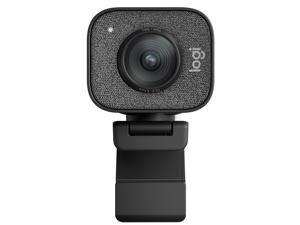 Logitech StreamCam Plus Webcam Bundle with Tripod, USB Hub, and Ring Light (Graphite)