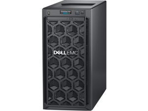 Dell EMC PowerEdge T140 Mini-tower Server - 1 x Intel Xeon E-2124 Quad-core (4 Core) 3.30 GHz - 8 GB Installed DDR4 SDRAM - 1 TB (1 x 1 TB) Serial ATA HDD - 12Gb/s SAS, Serial ATA/600 Controller - ...