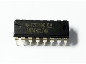 (10PCS) SN74HC174N IC HEX D FF POS-EDGE TRIG 16DIP 74HC174N HC174 74HC174