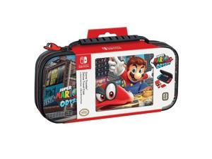 Nintendo Switch Super Mario Odyssey Carrying Case ??? Protective Deluxe Travel Case ??? PU Leather Exterior ??? Official Nintendo Licensed Product