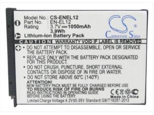 BattPit trade; New 2x Digital Camera Battery 1050 mAh 1x Charger Replacement for Nikon Coolpix S640