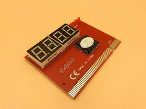 PC Analyzer Test POST Cards Computer PCI POST Card Motherboard LED 4 Digit Diagnostic Plastic Metal High Stability Express Card