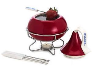 hershey's red kiss dessert fondue set