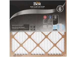 Do it Best 16 In. x 25 In. x 1 In. Dust & Lint MERV 6 Furnace Filter Pack of 12
