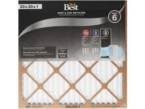 Do it Best 20 In. x 20 In. x 1 In. Dust & Lint MERV 6 Furnace Filter Pack of 12