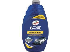 TURTLE WAX T472R 48 Oz. Car Wash and Wax Bottle, Light Blue, Biodegradable