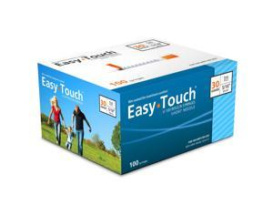 Easy Touch Insulin Syringes 30 Gauge 1cc 5/16 in - 100 ea