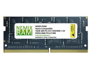HMA82GS7CJR8N-VK Hynix Replacement 16GB DDR4-2666 PC4-21300 ECC Unbuffered Memory by NEMIX RAM