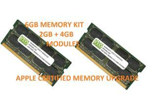 6GB (4GB & 2GB SODIMM Upgrade Kit) DDR2-800 for Apple iMac 2008 Core 2 Duo 8,1