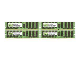 NEMIX RAM 256GB 4x64GB DDR4-2666MHz PC4-21300 4Rx4 ECC Load Reduced LMemory
