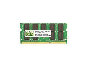 HP 723301-081 8GB (1x8GB) DDR3 1600 (PC3 12800) ECC SODIMM Memory by NEMIX RAM