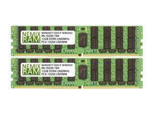 256GB Kit 2x128GB DDR4-2400 PC4-19200 ECC Load Reduced 8Rx4 Server Memory by NEMIX RAM
